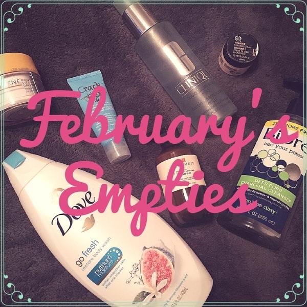 February's empties