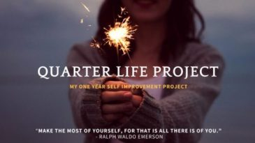 My Quarter Life Project
